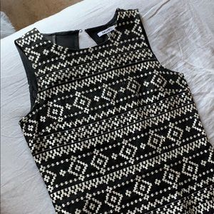 Black and White DKNY Dress, Tight Fit